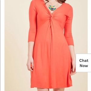Fervour by ModCloth Say Yes to Dress in coral